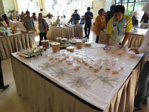 There were many exhibitors showing their products!