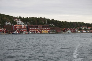 Tjärnö Station as seen from r/v Nereus