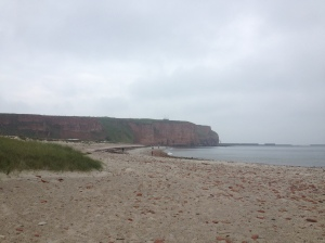 Main beach on Helgoland