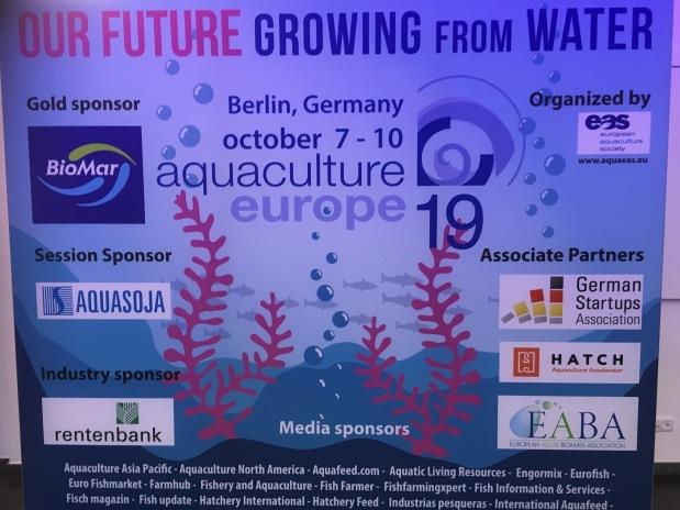 European Aquaculture conference in Berlin Day 1:Macroalgae